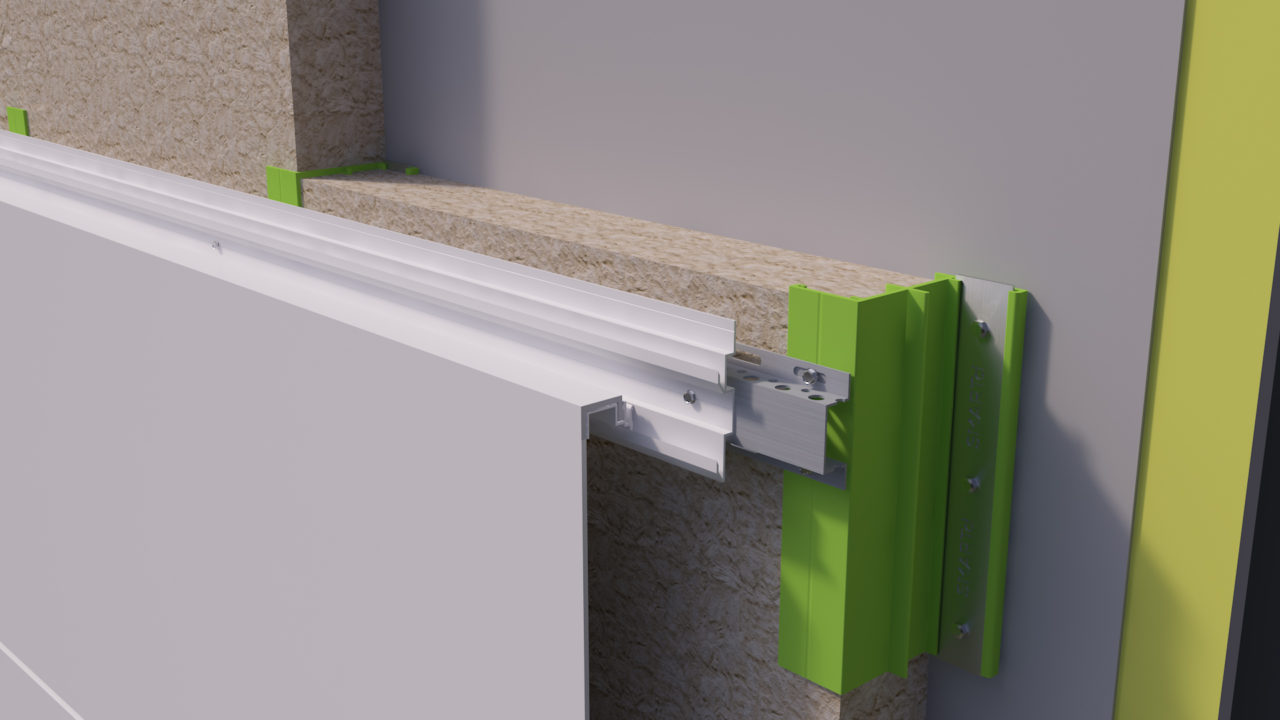 SMARTcI – Continuous Insulation System – Thermal Bridging