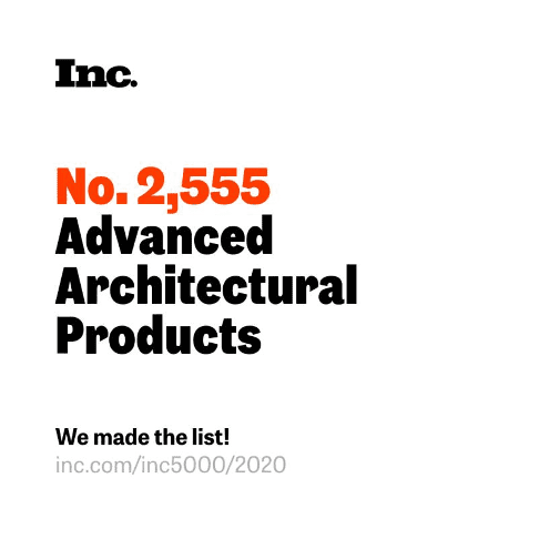 Inc. No. 2,555 Advanced Architectural Products